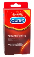 Durex Natural Feeling - latexmentes óvszer (10db)