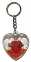 Szív-kulcstartó